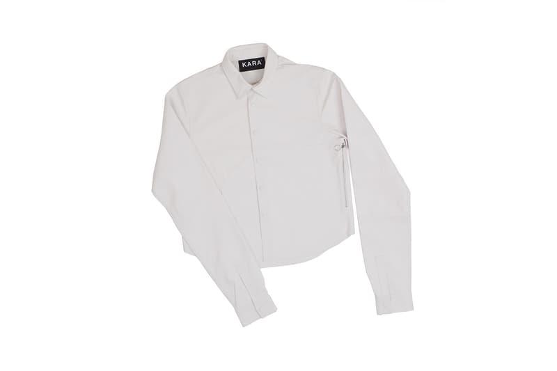 KARA Shirt Bag White