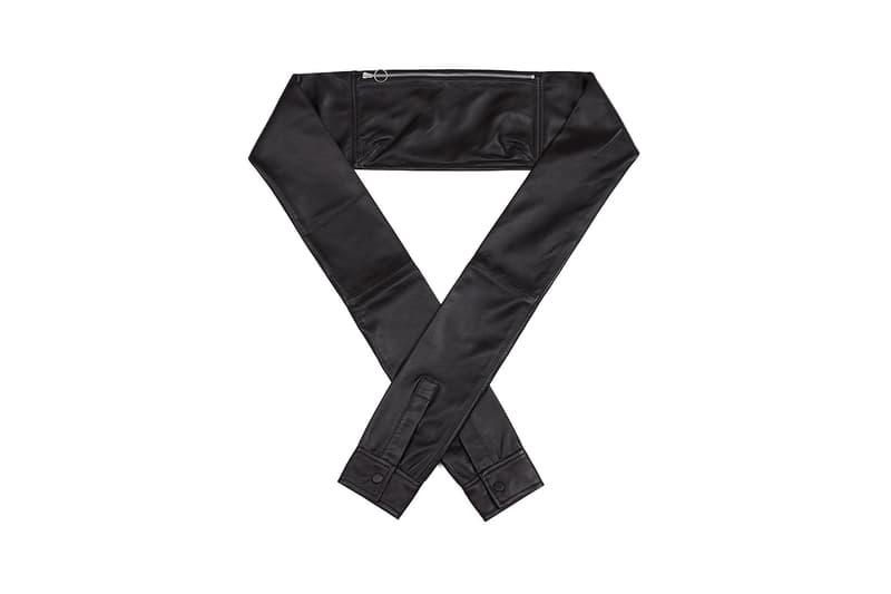 KARA Shirt Waist Bag Black