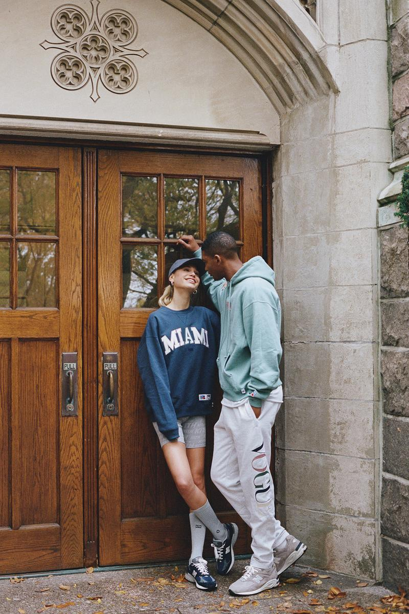 KITH x Vogue x Russell Athletic Love Thy City Collection Campaign Crewneck Miami Hoodie Sweatpants