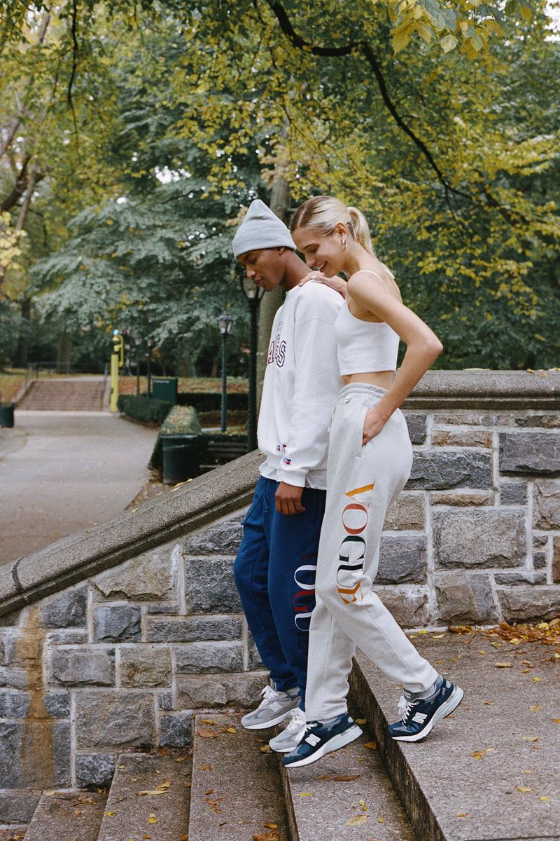 KITH x Vogue x Russell Athletic Love Thy City Collection Campaign Sweatpants Crewneck