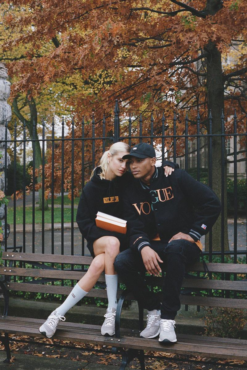 KITH x Vogue x Russell Athletic Love Thy City Collection Campaign Varsity Jacket Hoodie
