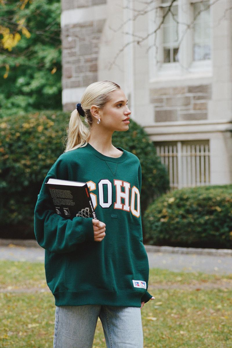 KITH x Vogue x Russell Athletic Love Thy City Collection Campaign Crewneck Soho