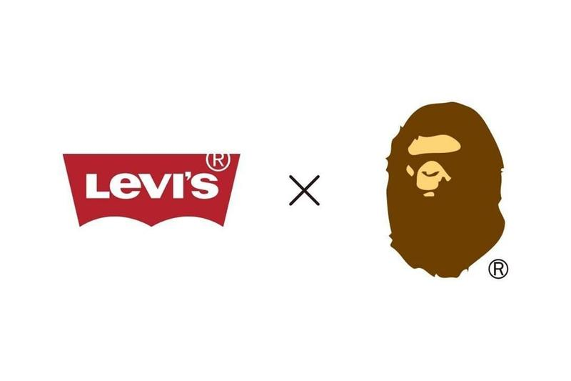 BAPE x Levi's Collaboration Collection Teaser Reveal Logo Brand Instagram
