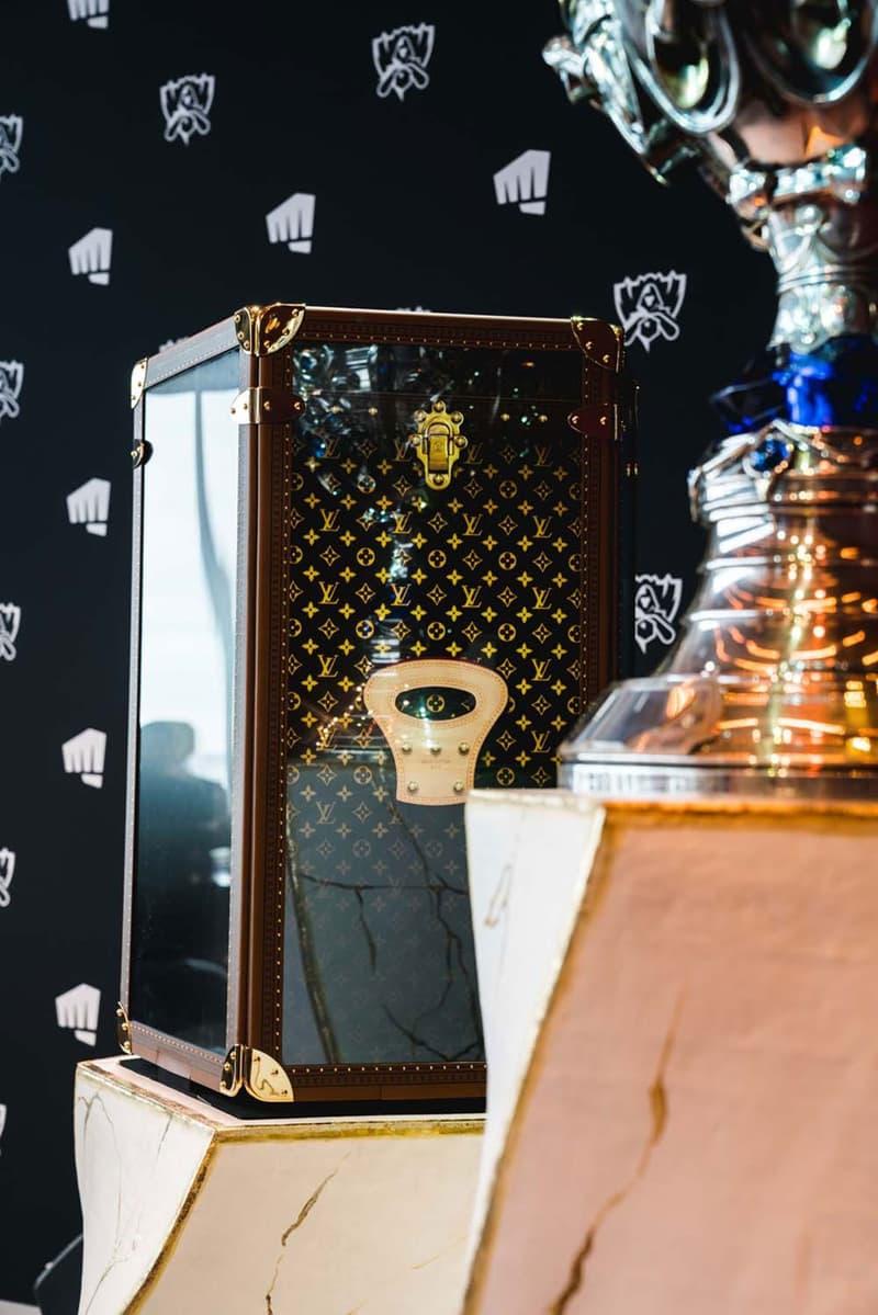 louis vuitton league of legends trophy case world championship video games
