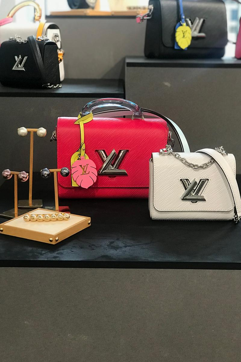 louis vuitton spring summer 2020 collection preview shoes sandals red white brown monogram bags LV blue red grey