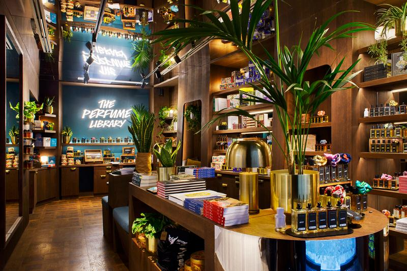Lush Florence Concept Store Perfume Library
