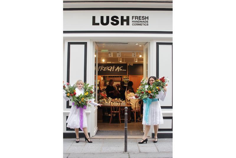 Lush Paris Concept Store Fresh & Flowers