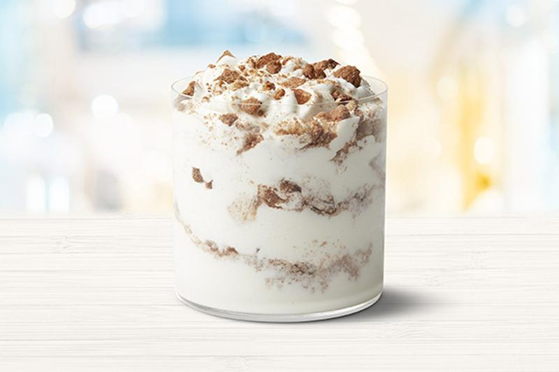 McDonald's Snickerdoodle McFlurry Holiday Flavor Ice Cream Release Limited Edition