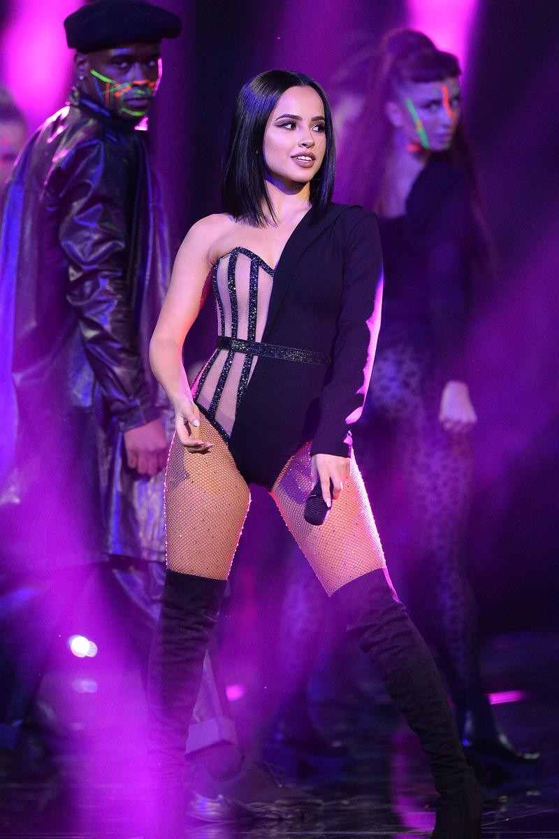 Becky G 2019 MTV EMAs Performance Bodysuit Outfit