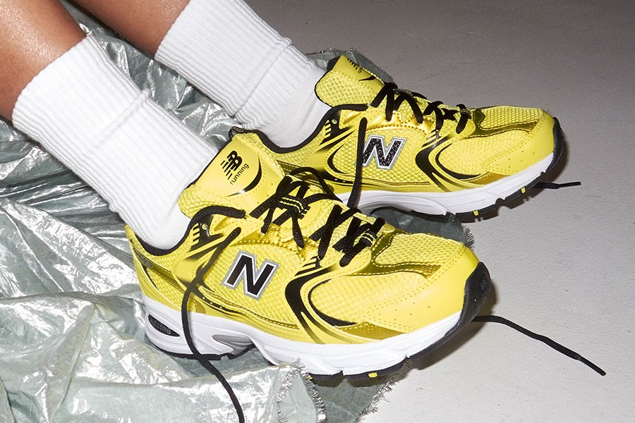 New Balance Brightens up the 530 Shoe in Neon Yellow