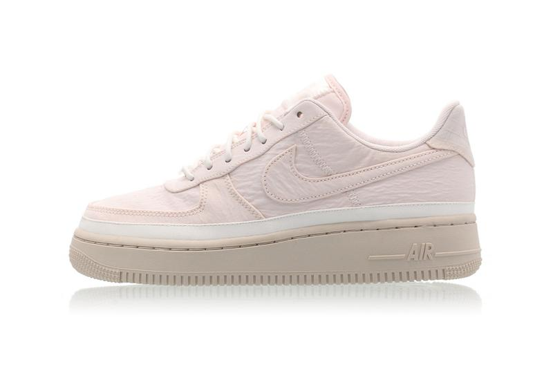 Nike Air Force 1 '07 SE Light Soft Pink Sneakers Trainers Beige Sole