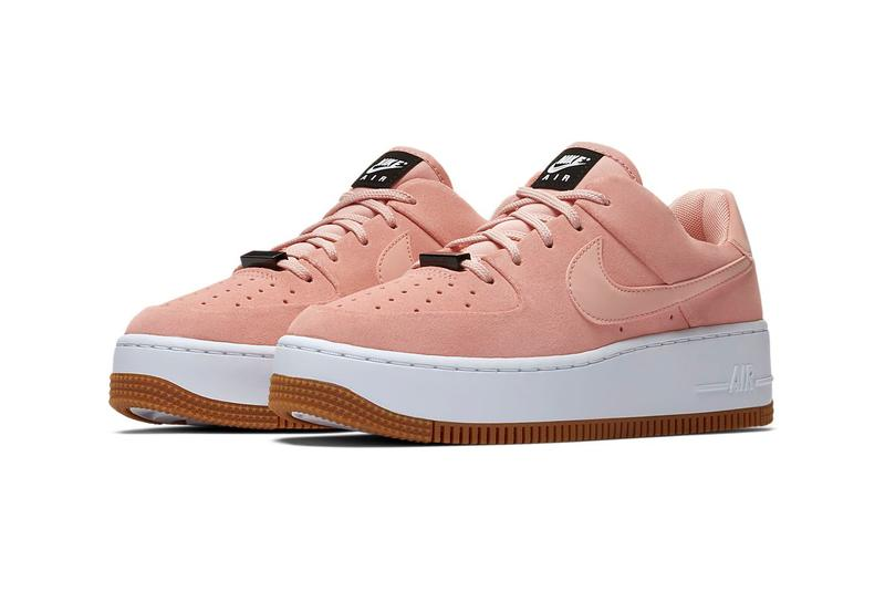 Nike Air Force 1 Sage Low Coral Stardust Pink Platform Women's sneakers trainers