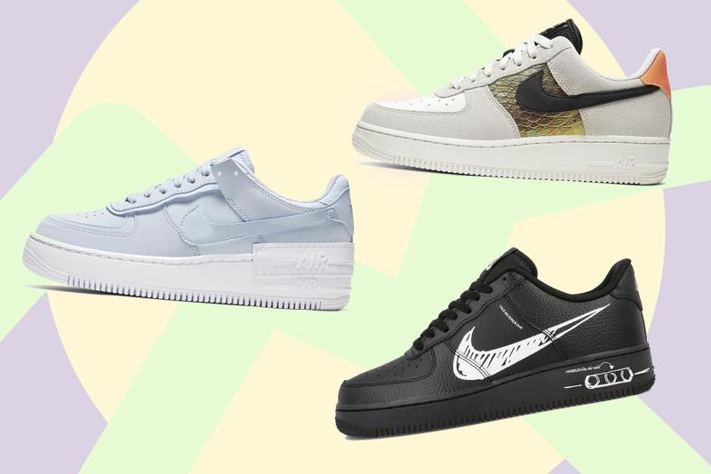 Nike Air Force 1 Best Fall Releases Sneaker Shoe Where To Buy Pink White Yellow Green