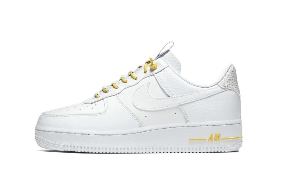 Peep the Yellow Laces on Nike's Latest Air Force 1 Silhouette