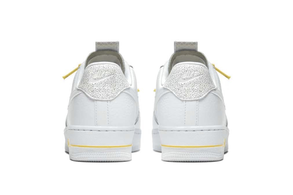 Nike Air Force 1 Sneaker Yellow Laces