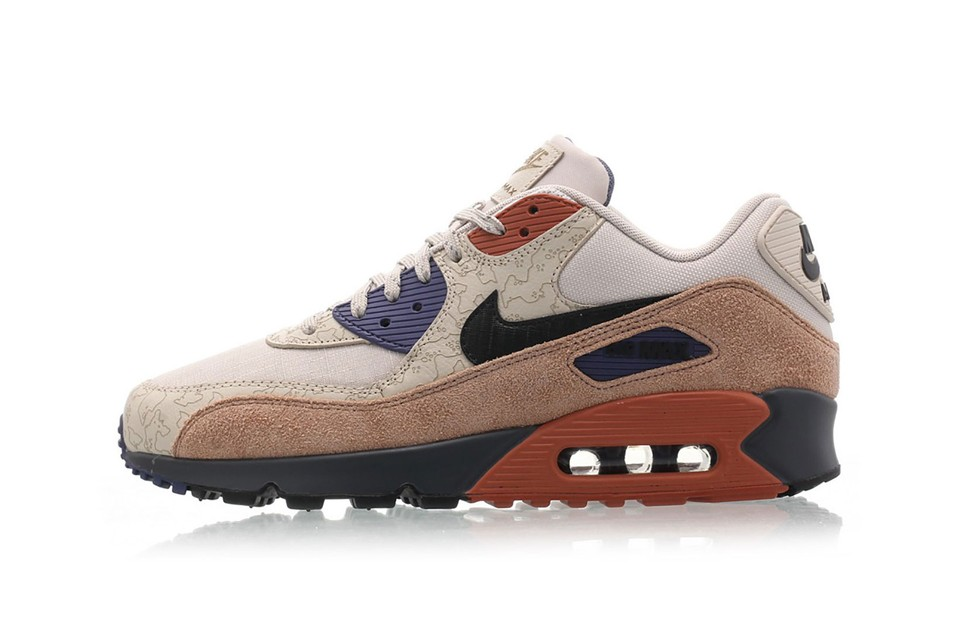 """Nike Features Diverse Patterns and Textures on the Air Max 90 """"Desert Sand"""""""