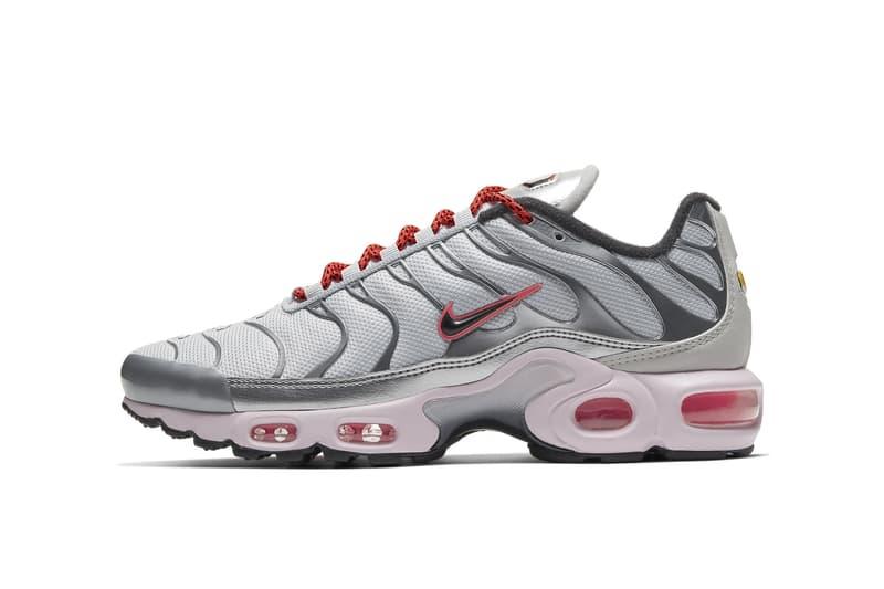 "Nike Air Plus ""Pink Foam/Metallic Silver"" Sneaker"