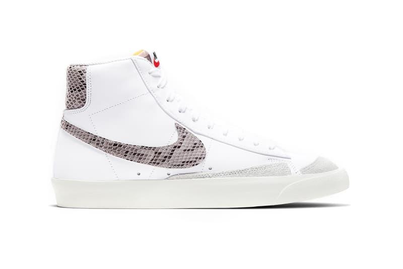 Nike Blazer Mid '77 We Reptile Snakeskin White Sail
