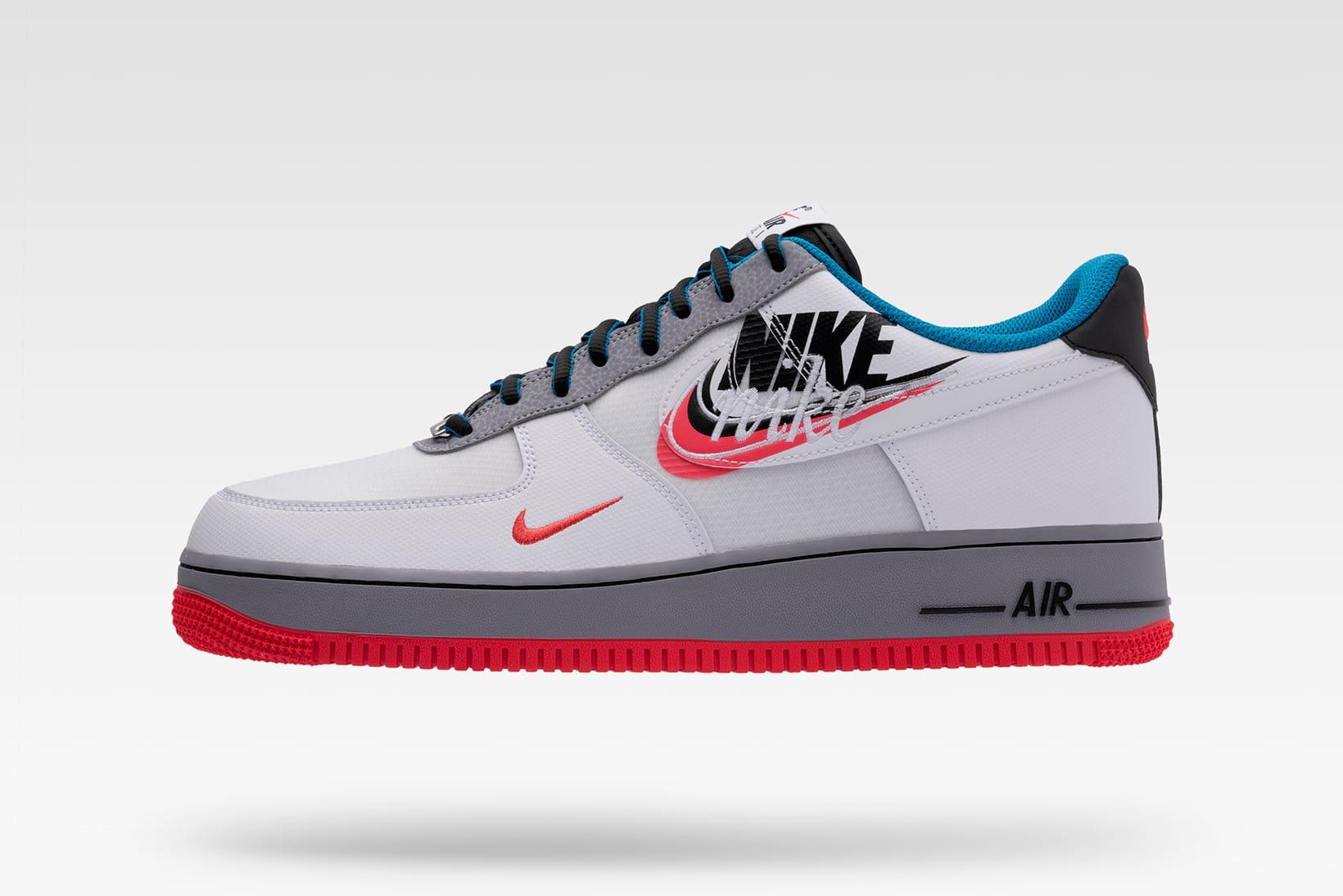 Nike Debuts New Swoosh Logos on Sneaker