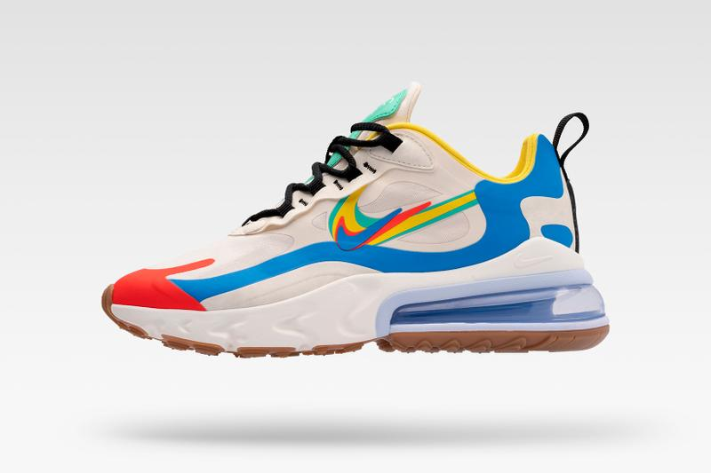 Nike Evolution of the Swoosh: Chapter 2 Legend of Her Air Max 270 React