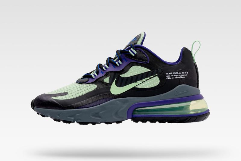 Nike Evolution of the Swoosh: Chapter 2 Future Swoosh Air Max 270 React