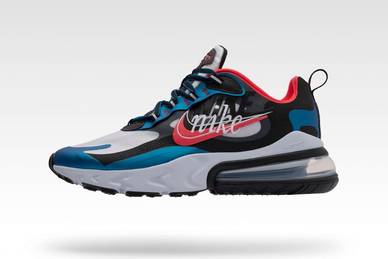 Nike Evolution of the Swoosh: Chapter 2 Time Capsule Air Max 270 React