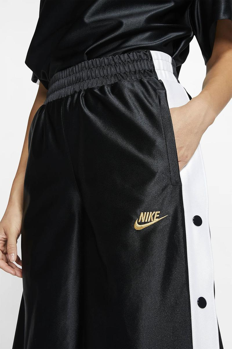 nike sportswear tear away pants 90s nostalgic retro satin