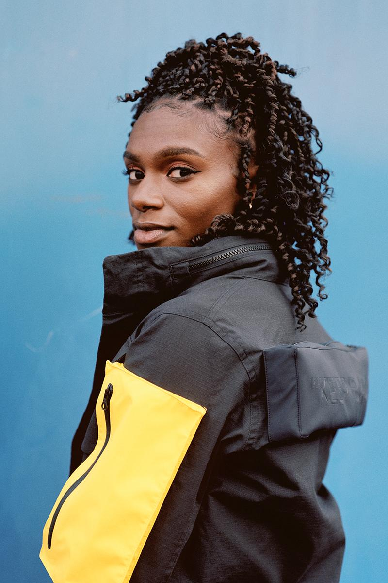 Virgil Abloh Nike Athlete in Progress Collection Off-White Collaboration release Nike Vapor Street Sneaker Drop Date Dina Asher-Smith