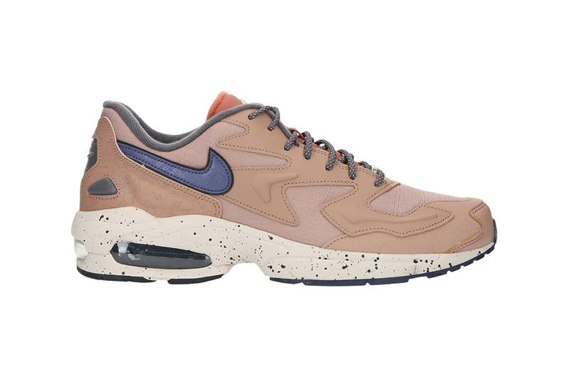 nikes air max 2 light lx sneakers beige brown purple shoes footwear sneakerhead