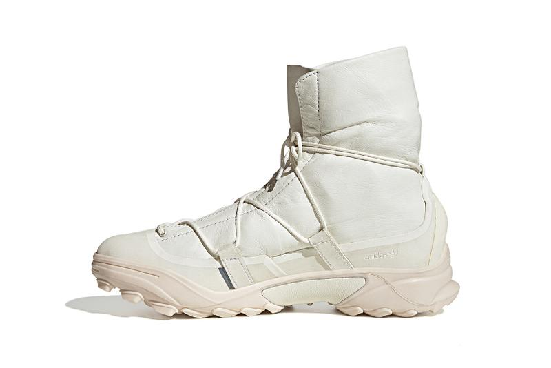 oamc adidas originals type o3 combat boots white black shoes