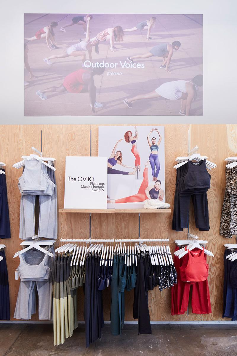 outdoor voices flagship store flatiron district new york opening fashion clothes