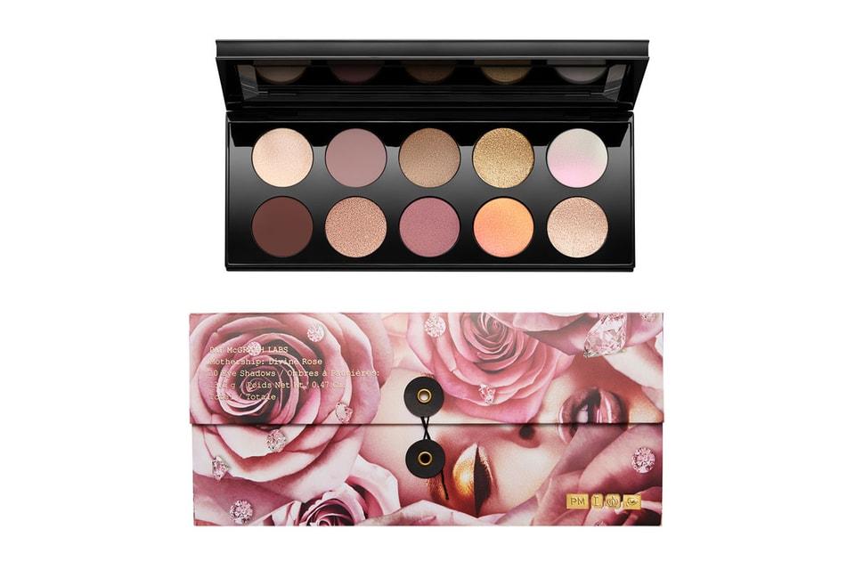 Pat McGrath's New Divine Rose Eyeshadow Palette Shimmers in Pink
