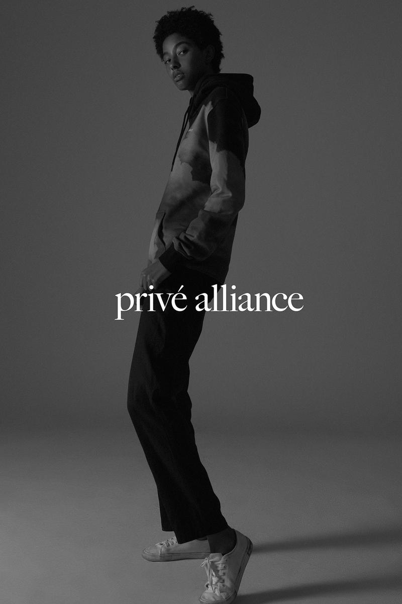 Privé by Baekhyun Fall Winter 2019 Collection Campaign Behind Clouds Hoodie