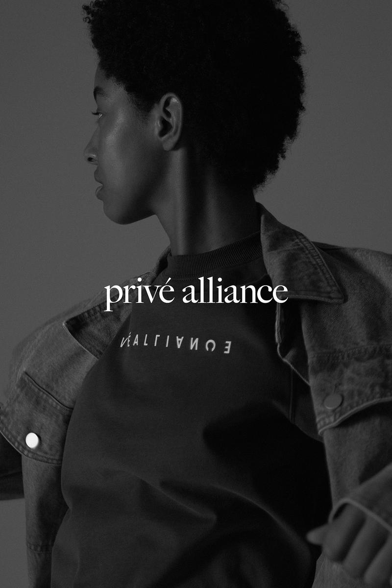 Privé by Baekhyun Fall Winter 2019 Collection Campaign Partial T-Shirt
