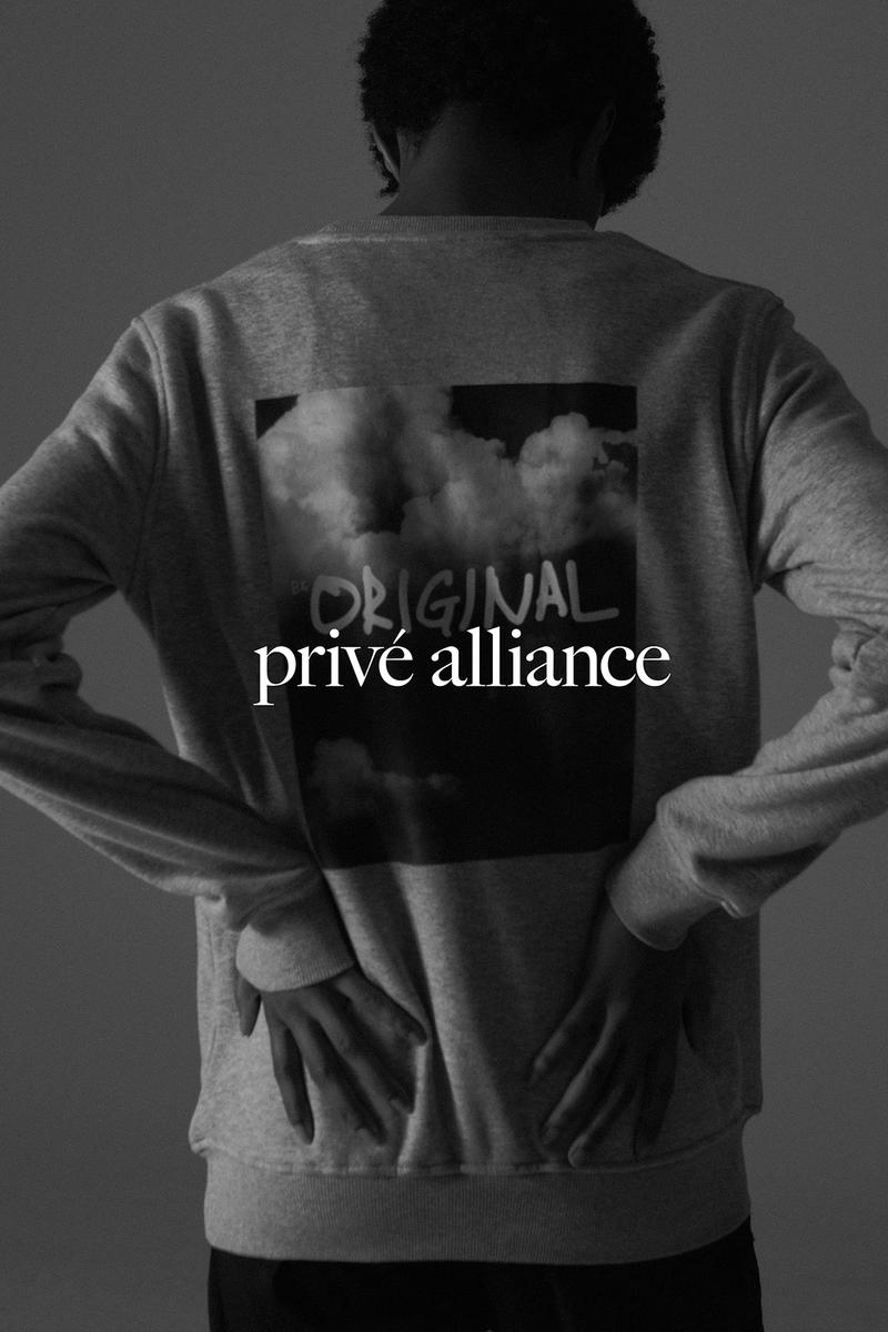 Privé by Baekhyun Fall Winter 2019 Collection Campaign Escape Crewneck