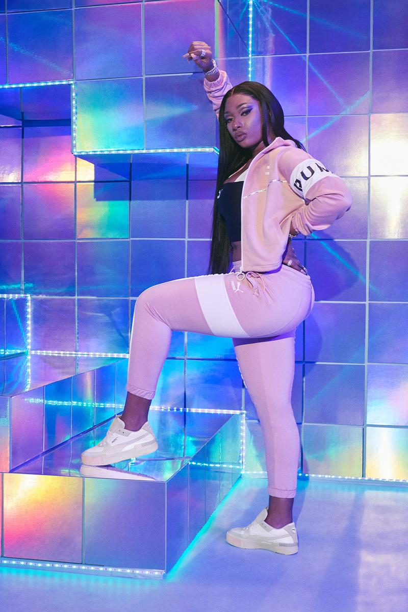 Megan Thee Stallion PUMA Cali Sport Campaign Sneakers Trainers