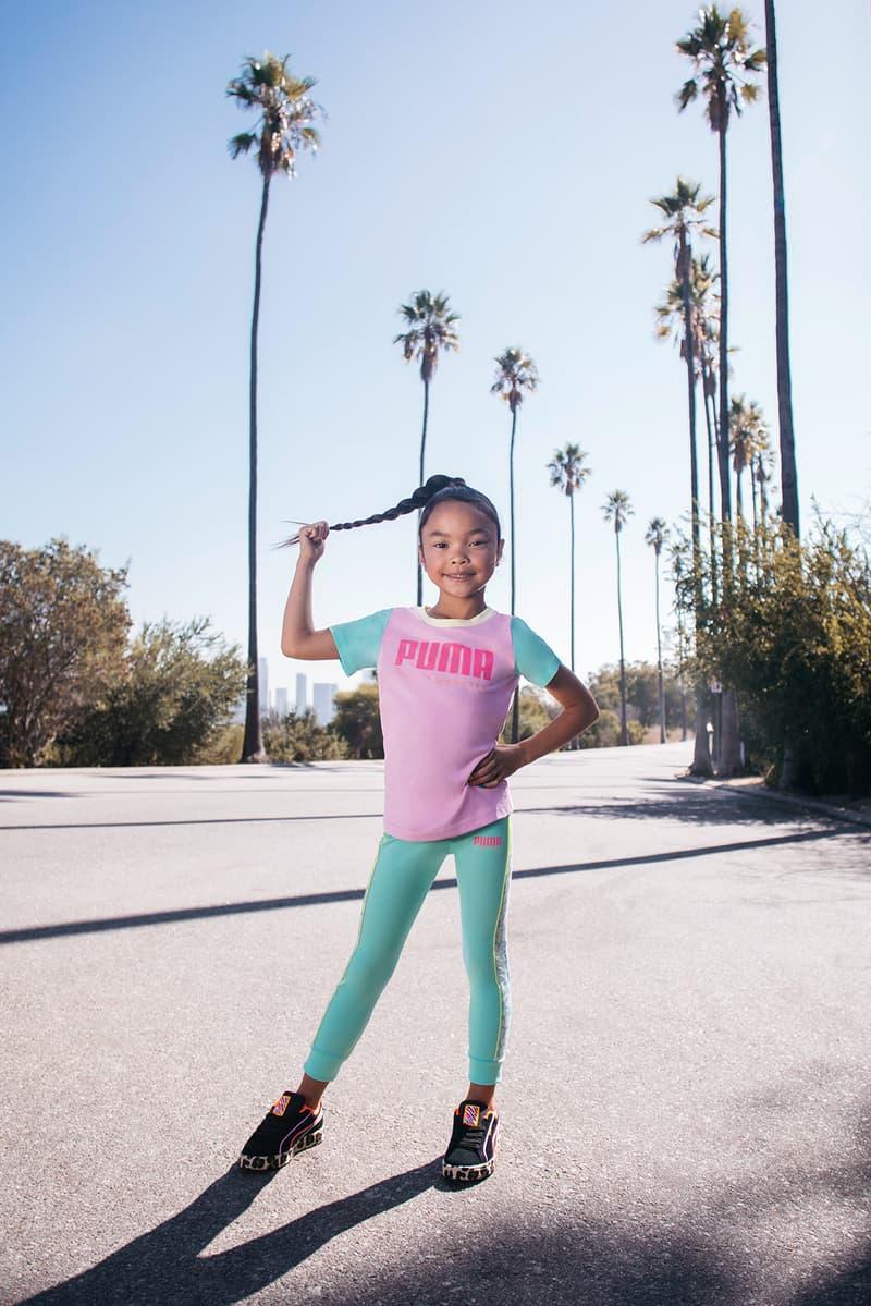 puma sophia webster collaboration suede nova aeon cali sneakers sweatshirt sweatpants apparel footwear shoes