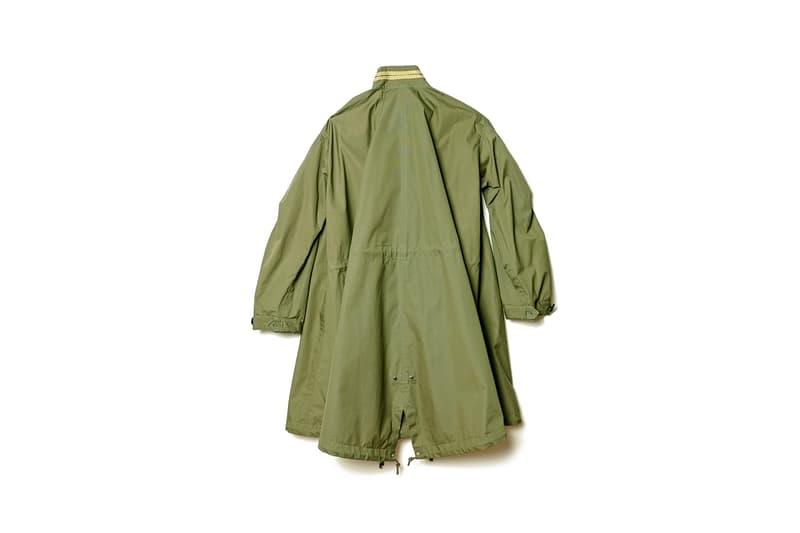 sacai dover street market exclusive napoleon jacket mods style coat black khaki outerwear fall winter