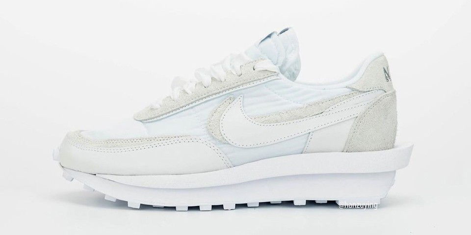 """A Closer Look at the Upcoming sacai x Nike LDWaffle in """"White"""""""