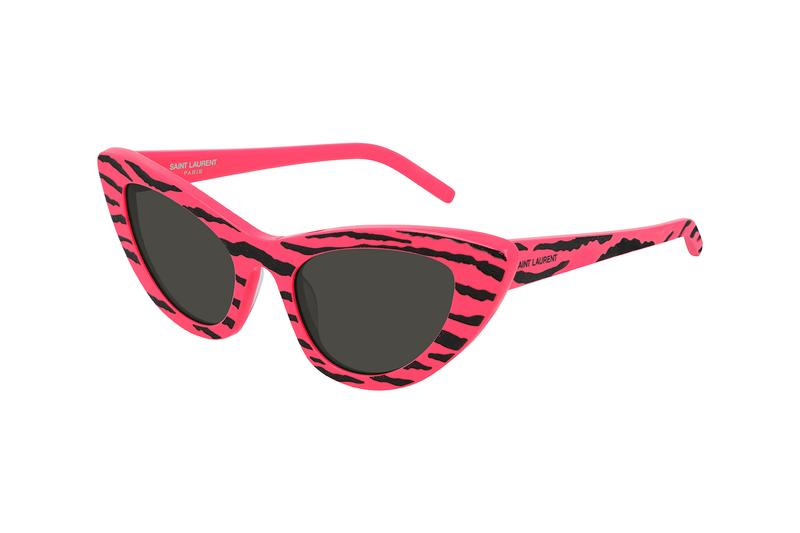 saint laurent lily sunglasses shades cat-eye 80s