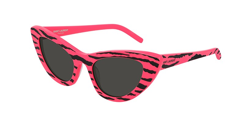 Travel Back to the '80s With Saint Laurent's Bold Cat-Eye Sunglasses - HYPEBAE