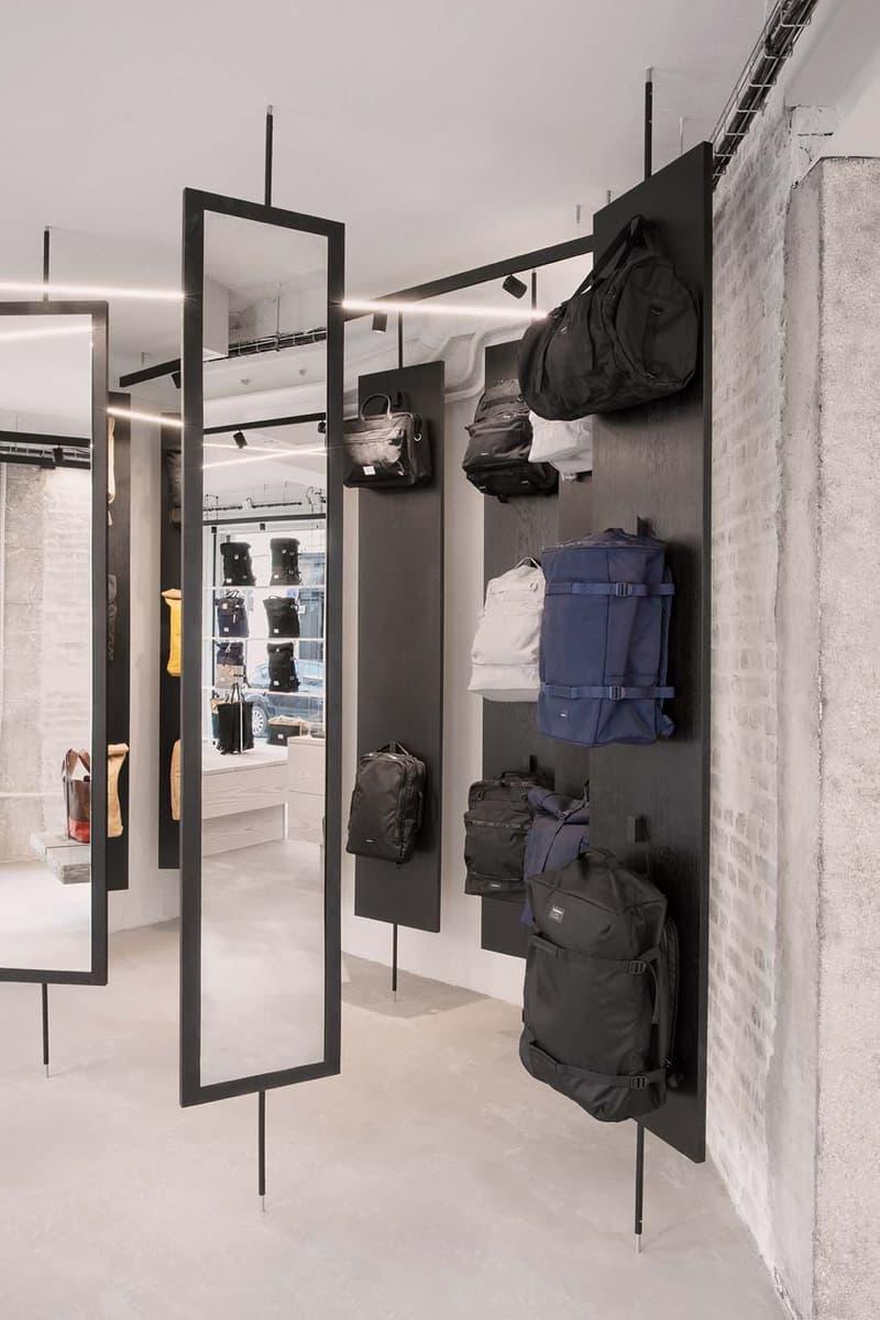 Sandqvist Paris Flagship Store Interior Design Wingårhs Marais Stockholm Sweden Bags Accessories Sustainable