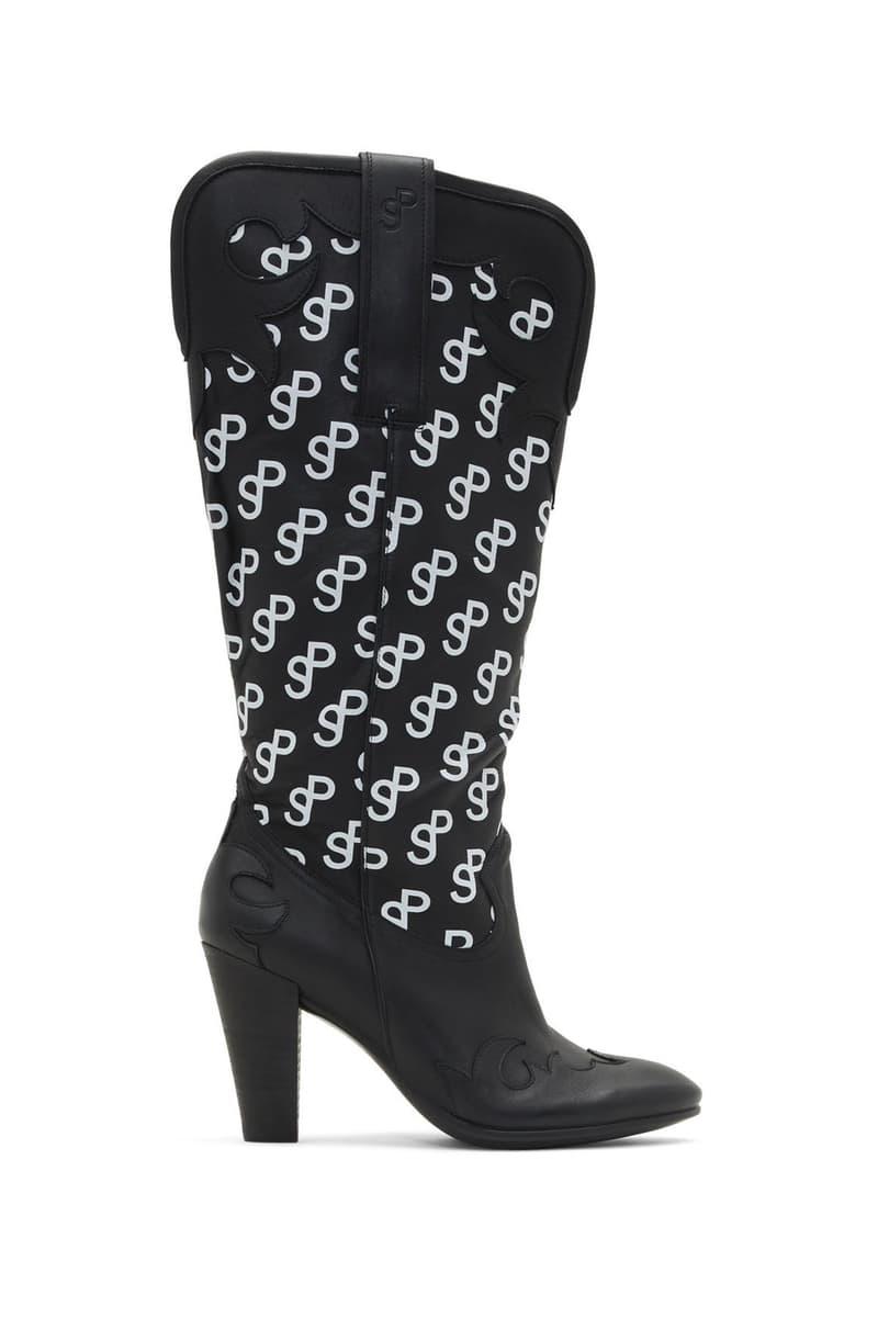 SSENSE Exclusive Saks Potts Ecco Edition Western 75 Boots Black
