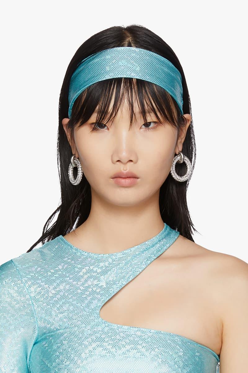 SSENSE Exclusive Saks Potts Stretch Headband Blue