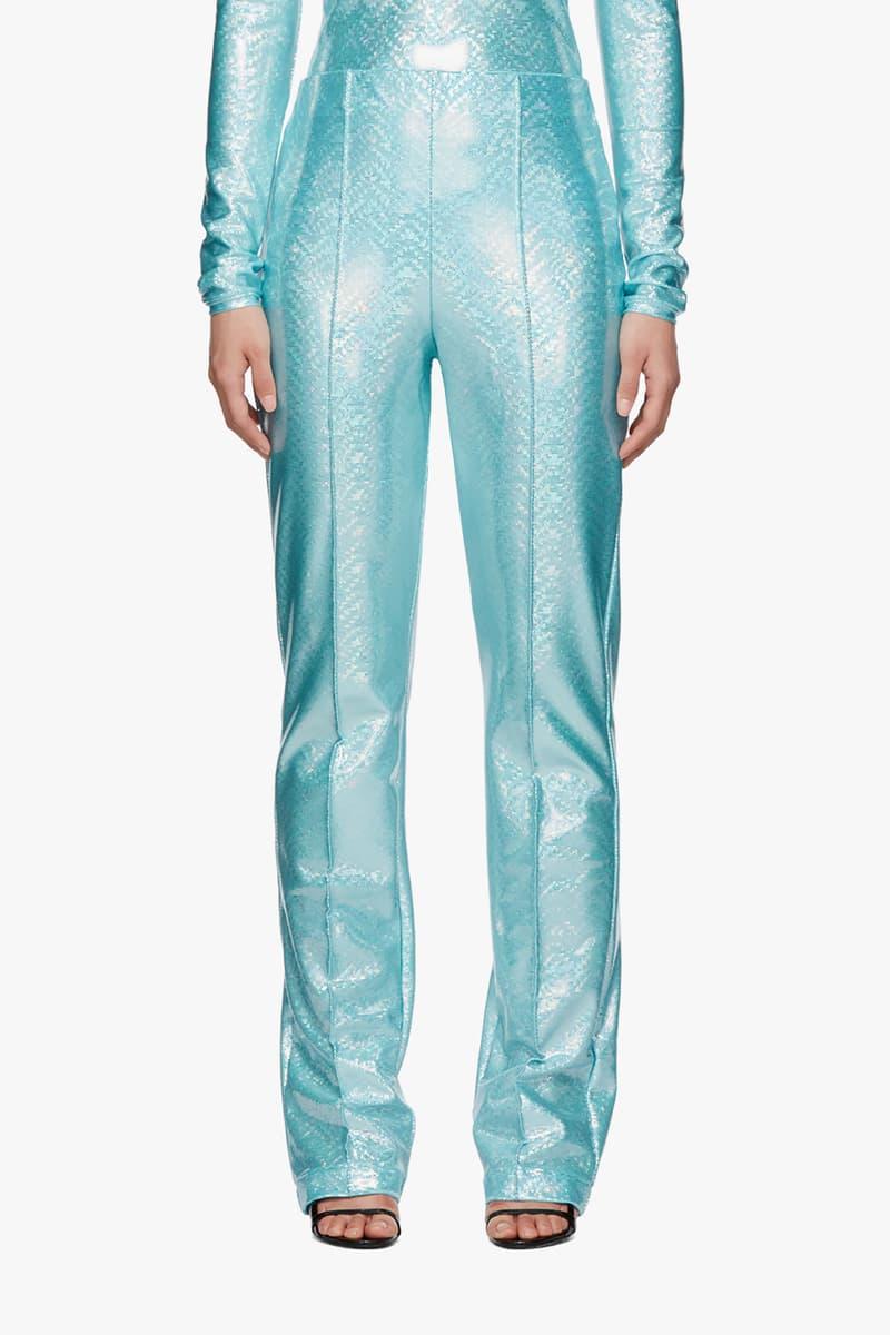 SSENSE Exclusive Saks Potts Lissay Trousers Blue