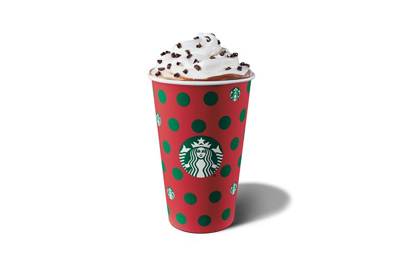 Starbucks Holiday 2019 Drink Menu Peppermint Mocha