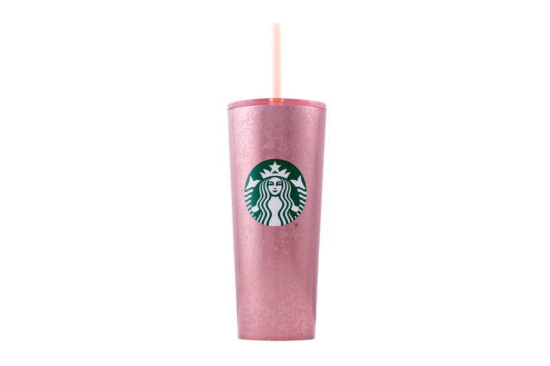 Starbucks Holiday 2019 Reusable Cups Mercury Flake Pink