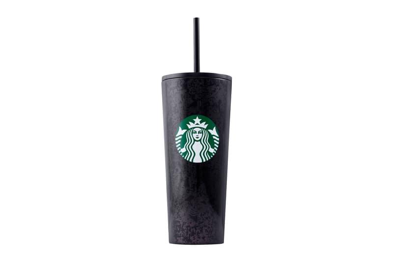 Starbucks Holiday 2019 Reusable Cups Mercury Flake Black