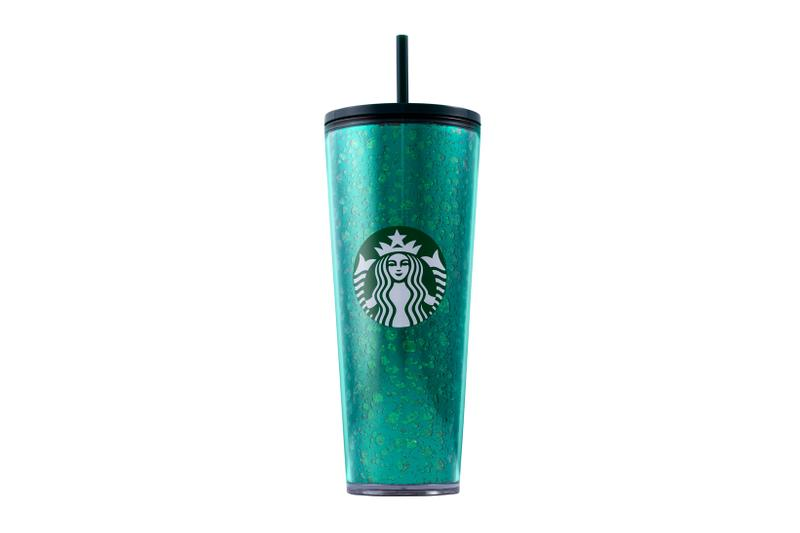 Starbucks Holiday 2019 Reusable Cups Mercury Flake Green Glitter
