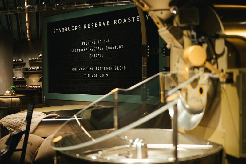 starbucks largest reserve roastery chicago coffee craft cocktails drinks